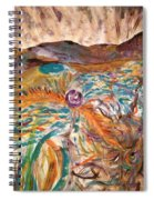 Dance Of The Elements Spiral Notebook