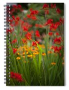 Dance Of The Flowers Spiral Notebook