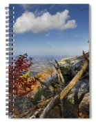 Dancing Cloud Spiral Notebook