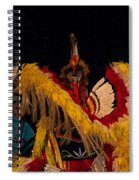 Dancing Feathers Spiral Notebook