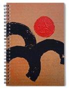 Dancing Figure Spiral Notebook