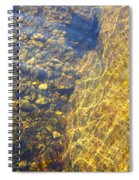 Dancing Lines And Stones Spiral Notebook