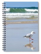 Dancing On The Beach Spiral Notebook