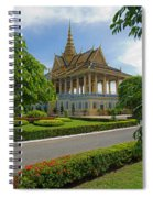 Dancing Pavilion Spiral Notebook
