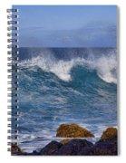 Dancing Water Spiral Notebook