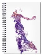 Dancing With A Stranger Spiral Notebook