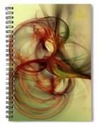 Dancing Wood Spirit Spiral Notebook