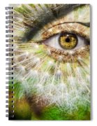 Dandelion Spiral Notebook