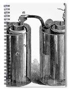 Daniell Cell, 1836 Spiral Notebook