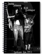 D J And R D In Spokane 1977 Spiral Notebook