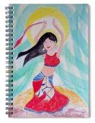 Danse Du Ventre Spiral Notebook