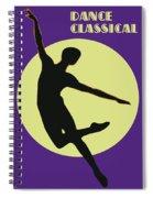 Classical Dancer Spiral Notebook