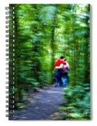 Dappled Days Of Summer Spiral Notebook