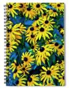 Dark Eyed Girls Spiral Notebook