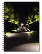 Dark Pathway Spiral Notebook