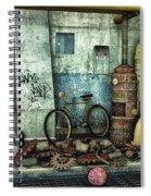 Dark Places Tell Stories Spiral Notebook
