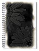 Darkness To Live Spiral Notebook