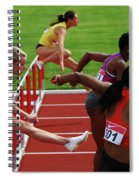 Dash To The Finish Spiral Notebook