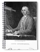 David Rittenhouse Spiral Notebook