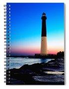 Dawn At Barnegat Light Spiral Notebook
