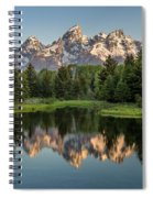 Dawn At Schwabacher Landing Spiral Notebook