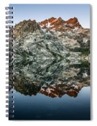 Dawn At Upper Sardine Lake Spiral Notebook