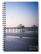 Dawn Breaking Vanilla Pop Spiral Notebook