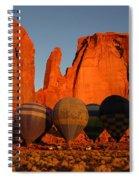 Dawn Flight In Monument Valley Spiral Notebook