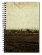 Dawn On The Lake Spiral Notebook