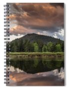 Dawn On The Snake River Spiral Notebook