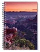 Dawn Over Fruita Spiral Notebook