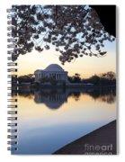 Dawn Over Jefferson Memorial Spiral Notebook