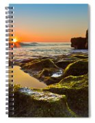 Dawn Pool Spiral Notebook