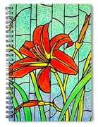 Day Lily Spiral Notebook
