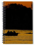 Day Of Fishing Is Over Spiral Notebook