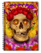 Day Of The Dead - Dia De Los Muertos Spiral Notebook