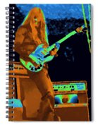 Day On The Green Red House Spiral Notebook