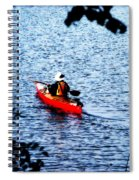 Day On The Lake Spiral Notebook