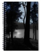 Day Or Night Spiral Notebook