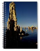 Daybreak On Mono Lake Spiral Notebook