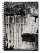 Days Gone By Bw Spiral Notebook