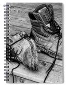 Days Work Done  Spiral Notebook