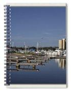 Daytona Boat Launch Spiral Notebook