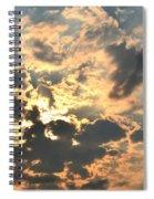Dazzling Sunset Spiral Notebook