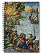 De Bry: Chicora, 1590 Spiral Notebook
