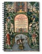 De Bry: Frontispiece Spiral Notebook