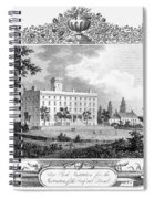 Deaf And Dumb Asylum, 1835 Spiral Notebook