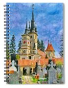 Death And Life Spiral Notebook