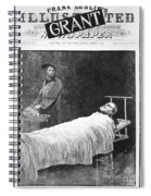Death Of Ulysses S. Grant Spiral Notebook
