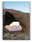 Death Valley Rock Spiral Notebook